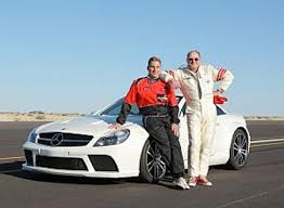wagner mercedes the fastest blind on earth 200 mph autoevolution