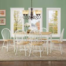 Aqua Dining Room by Better Homes And Gardens Autumn Lane Farmhouse Dining Table White