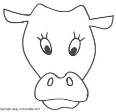 goat mask coloring page 25 images of goat face template crazybiker net