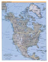 2007 World Map by Maps Of North America And North American Countries Political