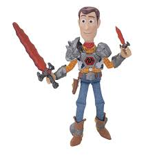 toy story battlesaurs woody 16 action figure thinkway