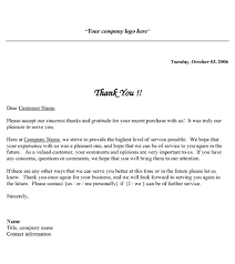 free printable business thank you letter template thank you