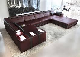 wohnlandschaft u form mit schlaffunktion sofa u form angebote auf waterige