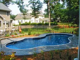 inground pool fence ideas pool design ideas