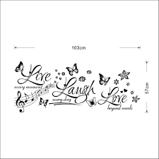 live laugh love wall sticker bedroom quotes wall decals