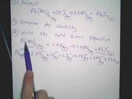 writing net ionic equations in solutions youtube