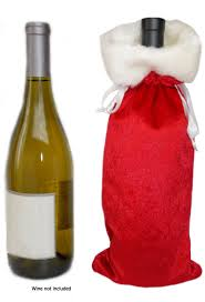 centimom christmas holiday wine liquor gift bags variety pack 3 diff