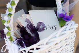 basket for wedding programs impressive wedding planning 101 wedding planning 101 wedding
