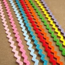 ric rac ribbon 9 yards mini ric rac ribbon 1 8 inch one yard each of 9 colors