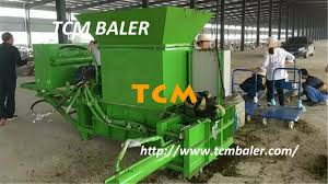 small scale silage baling machine youtube