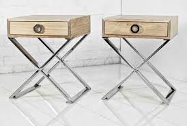 X Side Table Www Roomservicestore Solid Machiche Chrom X Base Boca Side Table
