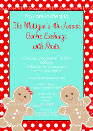 gingerbread man printable invitation dimple prints shop