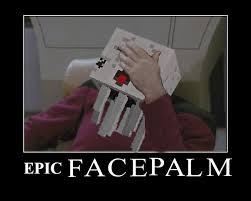 Double Facepalm Meme - photoshop ghasts into real life situations revival fan art