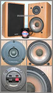 Infinity Rs1 Bookshelf Speakers Infinity Replacement Speakers Parts Spares Vintage