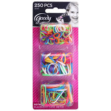 baby hair ties goody ouchless polybands elastics multi size 250 ct