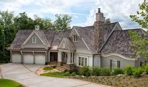 shingle style on lake keowee custom home builders