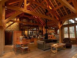 Timber Frame Barn Homes 1125 Best Barns Images On Pinterest Pennsylvania Barn Living