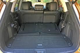 nissan versa cargo space 2017 nissan pathfinder platinum 4wd one week review automobile