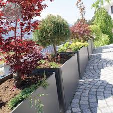 large patio pots and planters modern outdoor planters rectangular