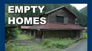 the empty homes of yokosawa village 日本の村の空の家 abandoned
