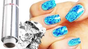 tutorial nail art foil shocking pennarelli nail art attack pict for carta stagnola ideas