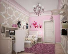 jugendzimmer einrichtungsideen jugendzimmer einrichten lila bett mit baldachin schrank spiegel