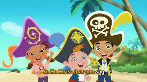 music video yo ho ho sing jake land pirates