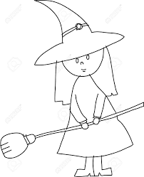 How Ro Drawn Witchcraft Cartoon Pencil And In Color Drawn Witchcraft