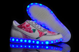rainbow light up shoes nike colorful rainbow light printed casual shoes for women in pink