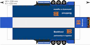 paper truck kenworth trailerboekhout gif paper trucks pinterest dioramas