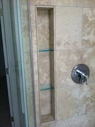 alluring glass shelves for bathrooms and floating glass shelves in