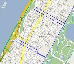 map of nyc streets map of new york city manhattan major tourist attractions maps