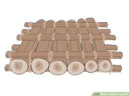 how to build a log raft 10 steps with pictures wikihow