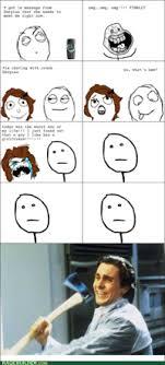 Christian Bale Axe Meme - images patrick bateman meme