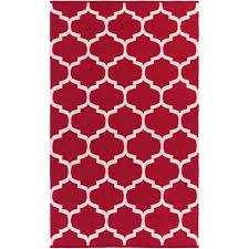 Toile Rugs Red And White Area Rugs Roselawnlutheran