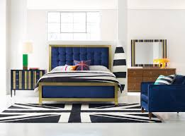 King Upholstered Bed Frame Cynthia Rowley For Hooker Furniture Bedroom Balthazar King