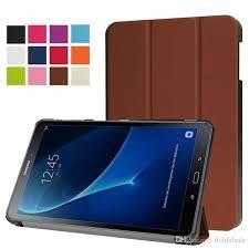 si e samsung ultra slim pu leather cover for samsung galaxy tab a 10 1 t585