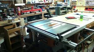 ridgid 13 10 in professional table saw ridgid r4512 table saw assembly and first impression youtube