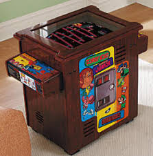 Table Top Arcade Games Discontinued Cocktail Table Video Arcade Games Reference Page