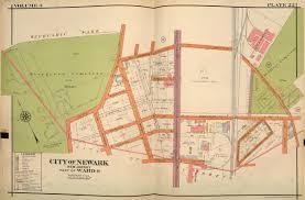 newark penn station floor plan robinson u0027s atlas 1927 vol 3 barbara and leonard littman