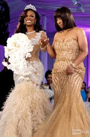 coming to america wedding dress starrlab kandi burruss todd tucker wedding