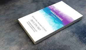 10 watercolor business card templates free u0026 premium templates