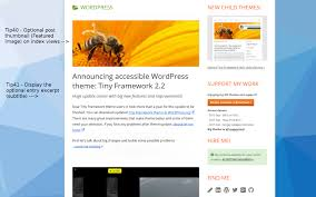 tiny framework free responsive accessible wordpress theme