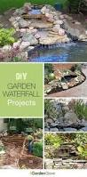 build a backyard waterfall and stream cleaning backyard and