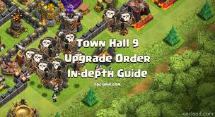 image clash of clans xbow town hall 9 what to upgrade next what to upgrade first