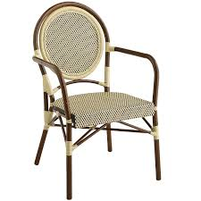 Pier One Chairs Dining Bistro Chair Mocha U0026 Ivory Pier 1 Imports Apartment