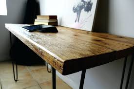 desk reclaimed wood end table diy reclaimed wood desk top uk