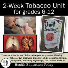 health unit tobacco get this creative way to teach your tobacco