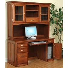 Student Desk With Hutch Home Computer Desk Hutch Desk Enclosed Desk Hutch Small Student