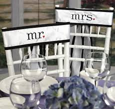 wedding chair sash mr and mrs chair sashes wedding chair sashes